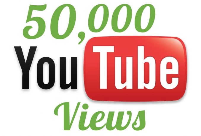deliver 50,000 YouTube views Maximum split