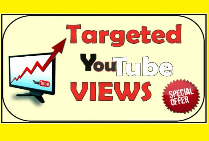 deliver Targeted You Tube views (Instant start