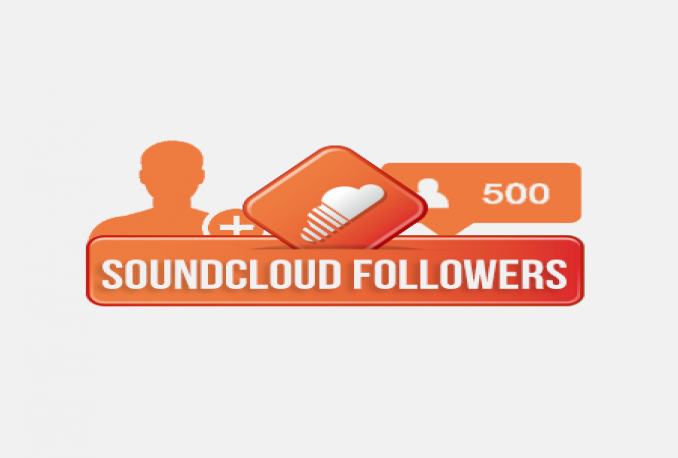deliver 500 sound clouds followers