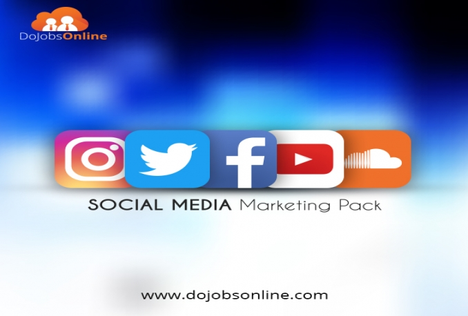 deliver Social Media Marketing Pack Lower Cost Ever.