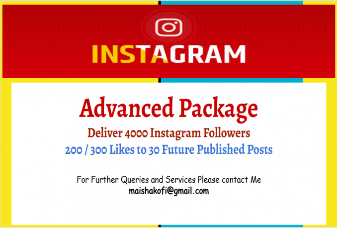 deliver advanced social Proof Package of Instagarm