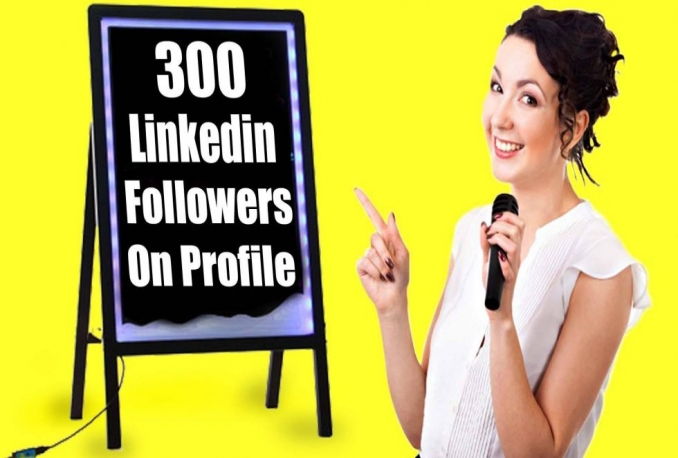 deliver 200 LinkedIn Followers