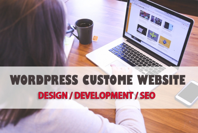 Create a WordPress website or WordPress design