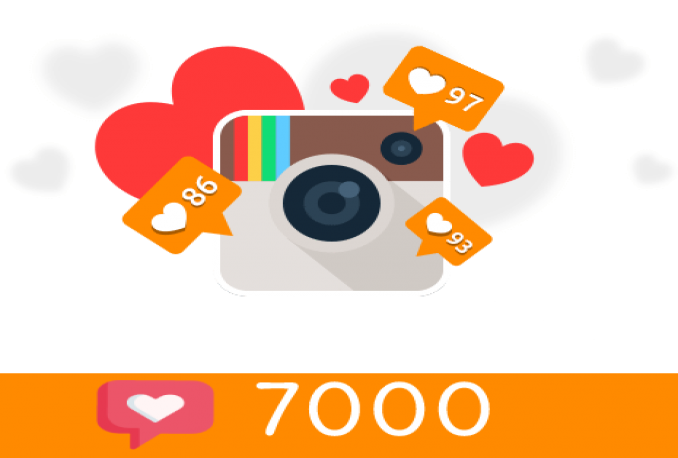 add 7000+ Instagram Post Likes (Instant Start)