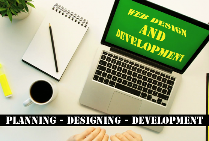 I Will Elegant Design And Develop A Complete Responsive Website
