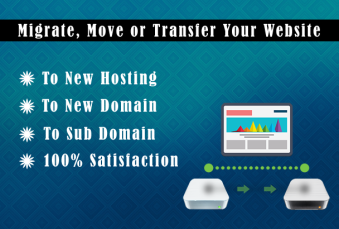 Do WordPress Migration Or Transfer Any Website