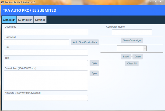 Tra Auto Profile Submited - HIGH AUTHORITY BACKLINK SOFTWARE