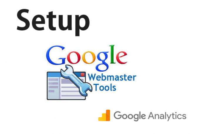Setup Google Analytics and Webmaster
