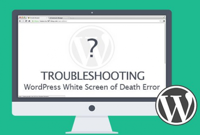 fix WordPress white screen of death