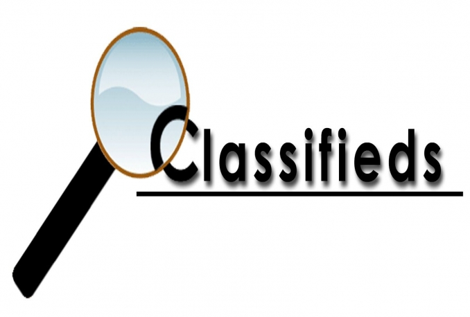 30 Classified Ads Submission