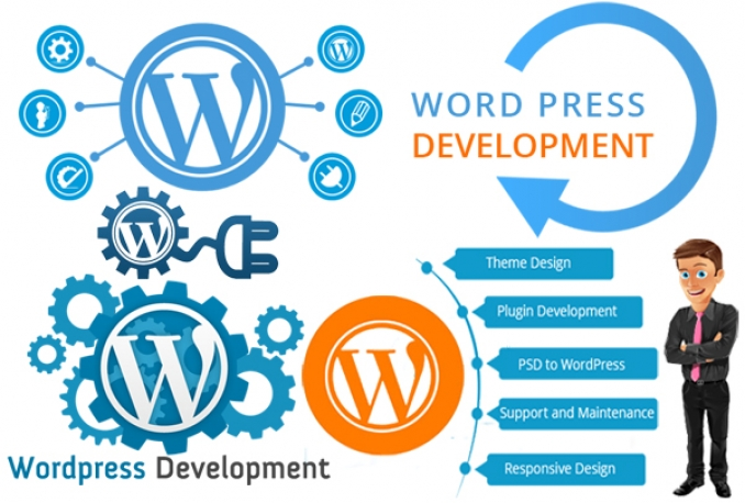 create wordpress website with premium themes/SEO Friendly / eCommerence site