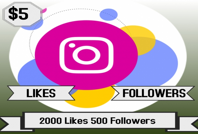 deliver 2000 Likes and 500 Followers of Instagram (Ads Campaigns)