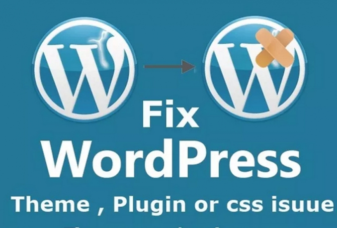 fix any kind of WordPress error in 24 hours