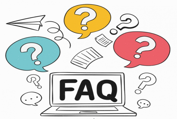write an informative faq page for your website
