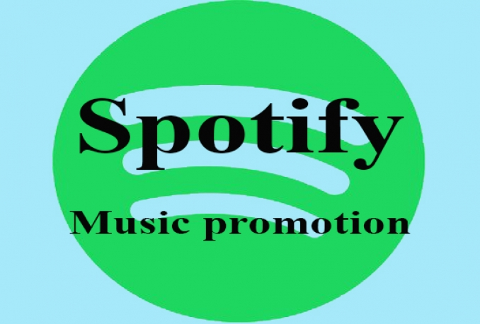 do 3000+ real and organic spotify music Play