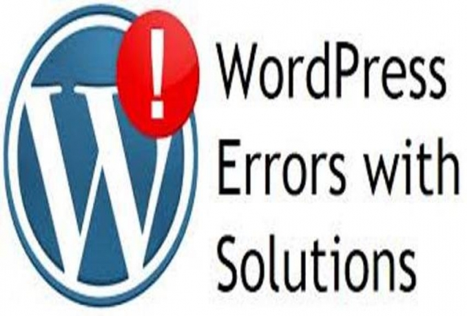 Solved WordPress error or bug fixing